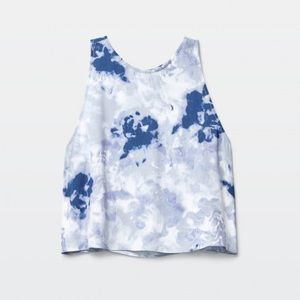 Aritzia/Wilfred Octave Cropped Tank Top 💙